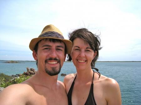 Alicia and I in Sri Lanka