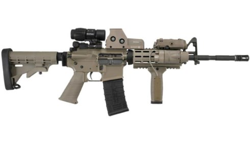 "The AR-15 is a weapon protected as an ""arm"" under the 2nd Amendment.  The Colorado shooter legally purchased one before shooting 70 people in the summer of 2012"