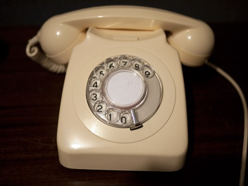 This phone was built and in use in 1987.