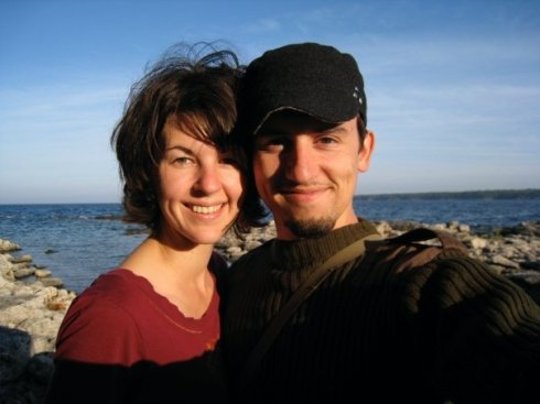 The Honeymoon Shot: Jer and Alicia, 2008, Tobermory, Canada