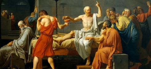 As he reaches for the poisonous hemlock, Socrates spends his final moments discussing virtue and the importance of living well.