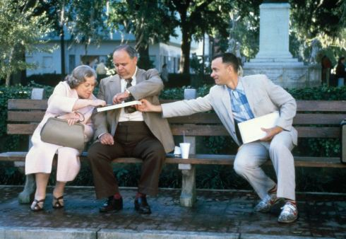 """Life is like a box of chocolates; you never know what you're gonna get.""  -Forest Gump, 1994"